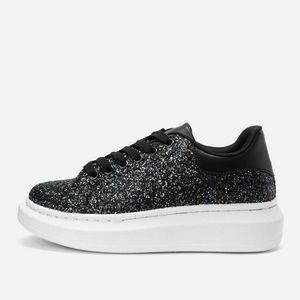 Black Sparkly/Glittery Shoes